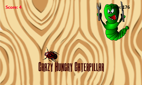 Crazy Hungry Caterpillar