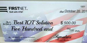 ATT Award for Best Internet of Things (IOT)